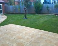 After job landscaping bloor homes bideford