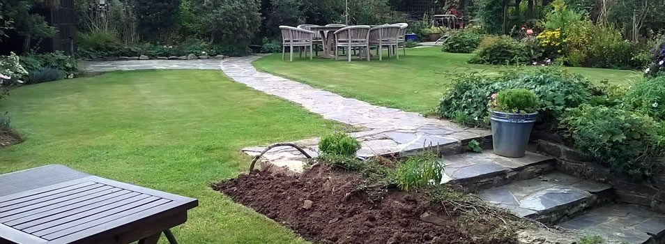 Landscaping garden in Woolsery Devon and Cornwall