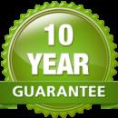 Fencing work 10-year-guarantee