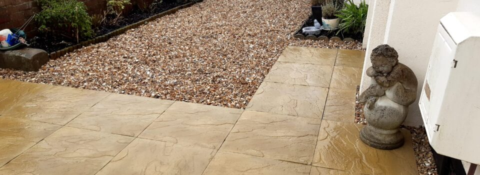Before and after Patio work in Bude (4)