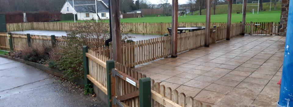 Pickett Fencing Kingsley School Bideford (4)
